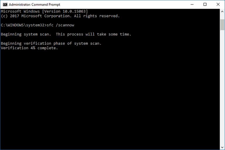 安装错误0xc000021a sfc / scannow